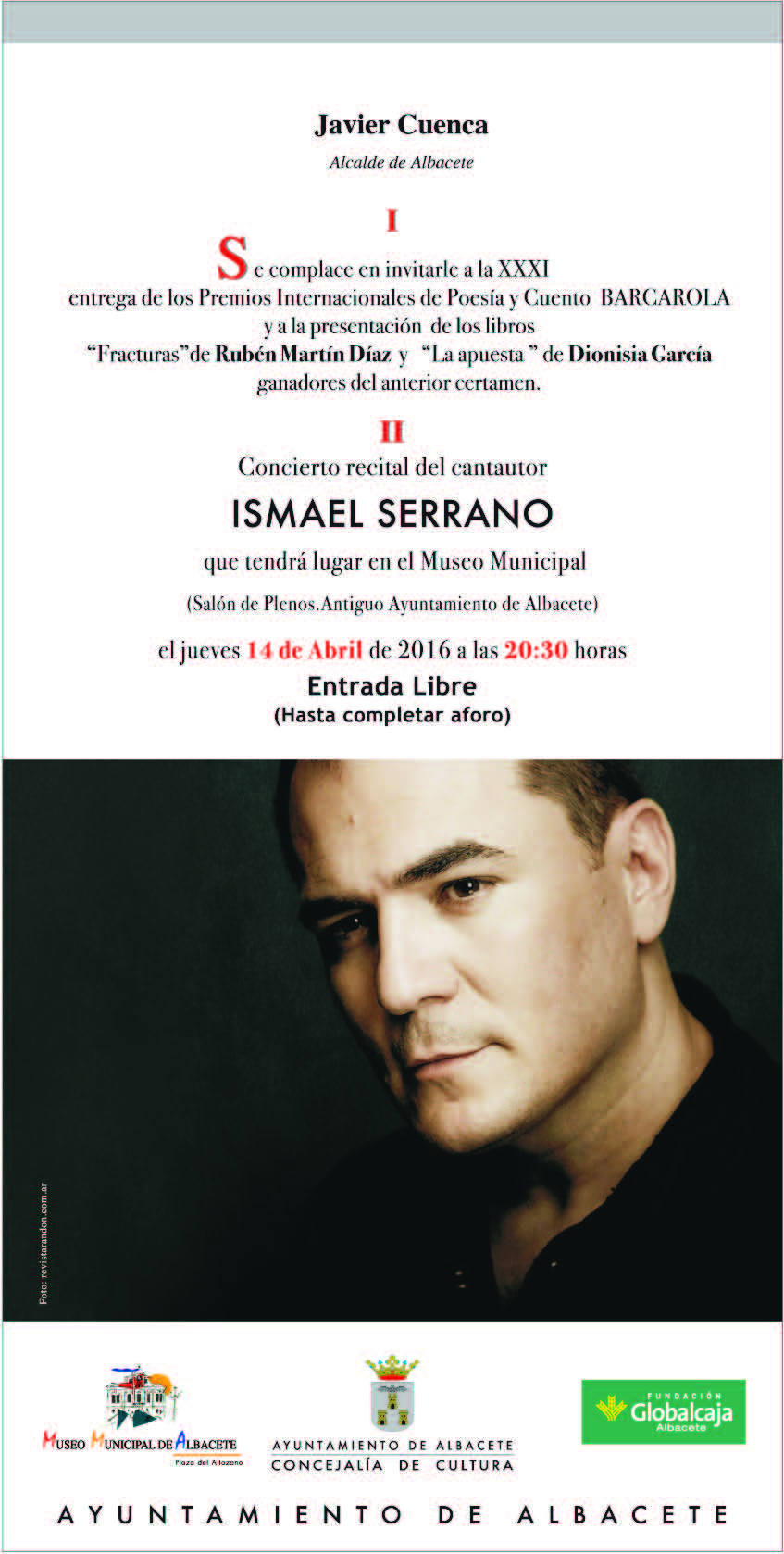 INVITACION BARCAROLA